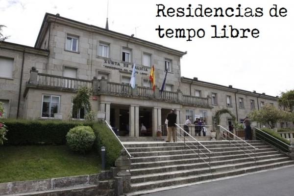 Estadías nas residencias de tempo libre de Panxón e do Carballiño.