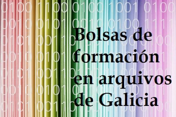 Bolsas de formación en arquivos de Galicia