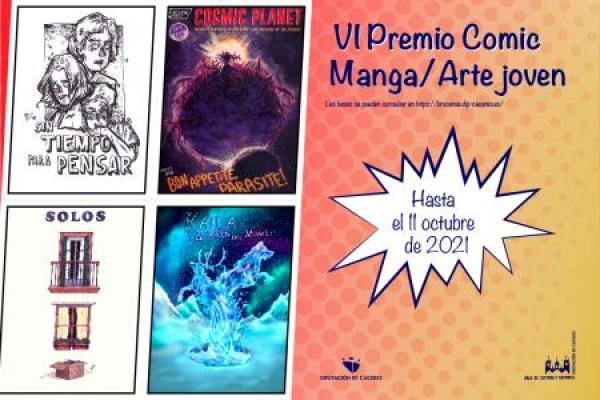 VI Premio Cómic Manga/Arte novo
