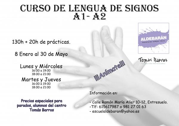 Curso de Lingua de signos na Coruña