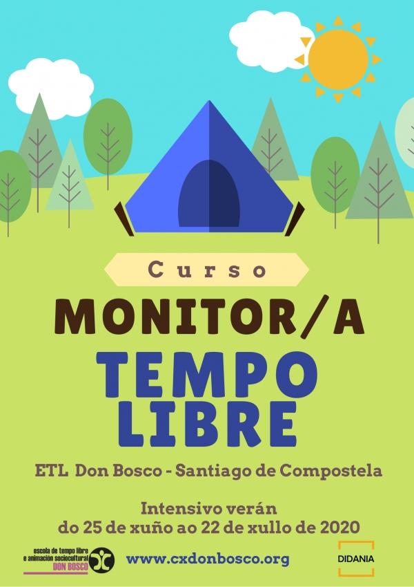 Curso de Monitor/a de actividades de tempo libre da ETL Don Bosco en Santiago de Compostela