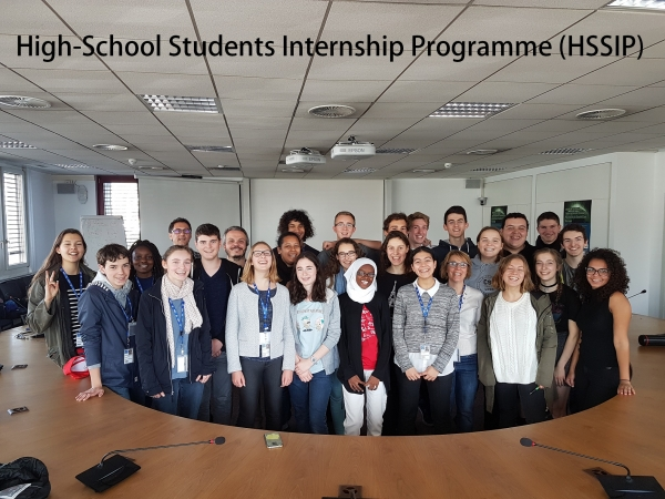 High-School Students Internship Programme (HSSIP) na sede do  CERN en Xenebra