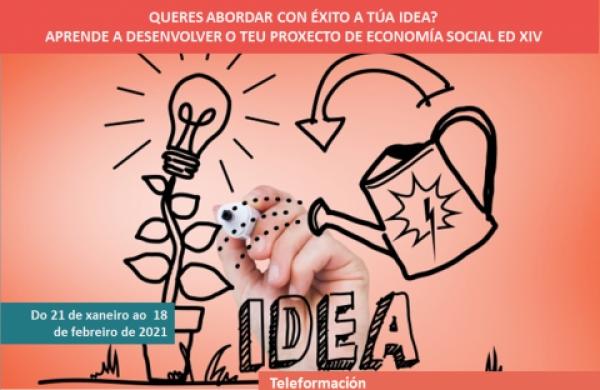 Aprende a desenvolver o teu proxecto en Economía Social