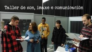 Taller de son, imaxe e comunicación na Coruña e en Padrón