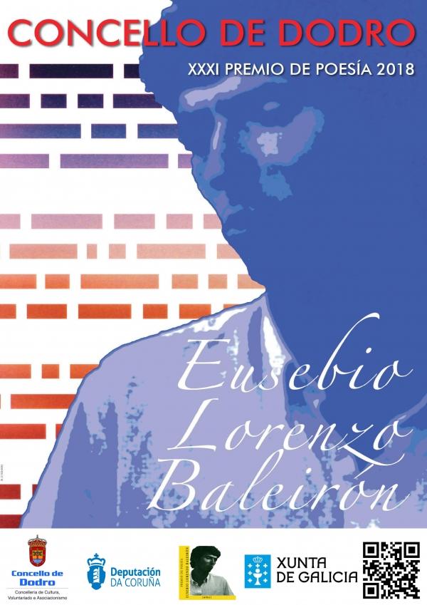 XXXI Premio de Poesía Eusebio Lorenzo Baleirón