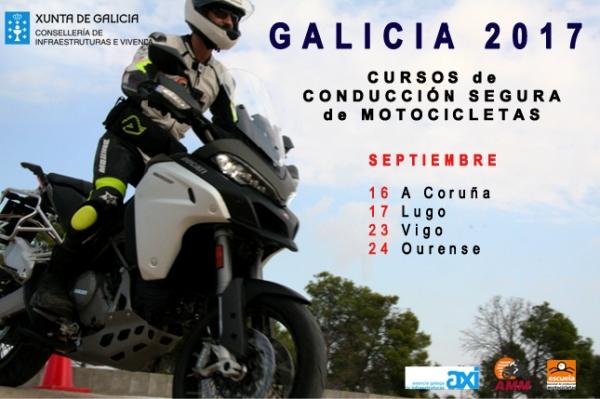 Cursos de condución segura de motocicletas