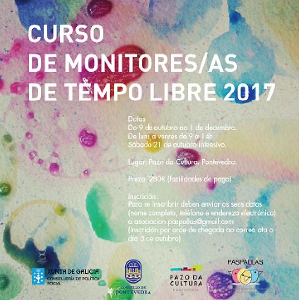 Curso de monitores/as de actividades de tempo libre en Pontevedra