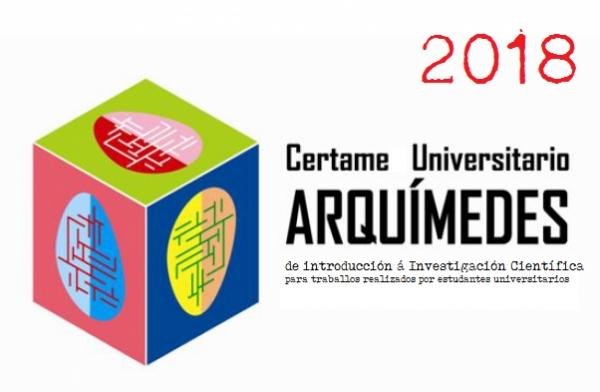 "XVII Certame Universitario ""Arquímedes"", de Introdución á Investigación Científica"