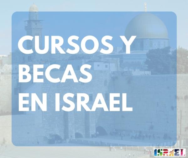 Bolsas para estudar en Israel un postgrao o cursos de verán