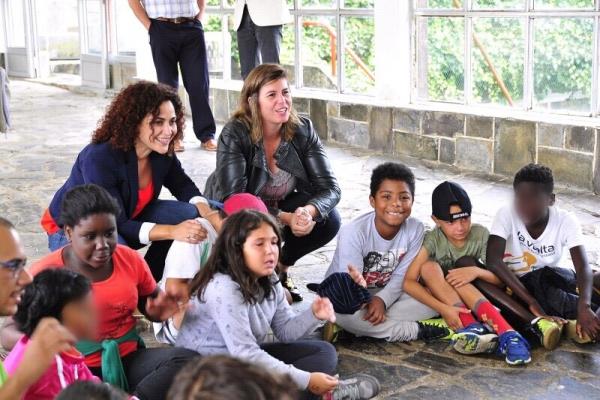 A Xunta desenvolve no albergue de Gandarío un campamento solidario para menores en situación de garda ou tutela