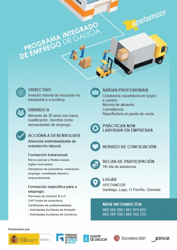 Programa Integrado de Emprego de Galicia de APETAMCOR