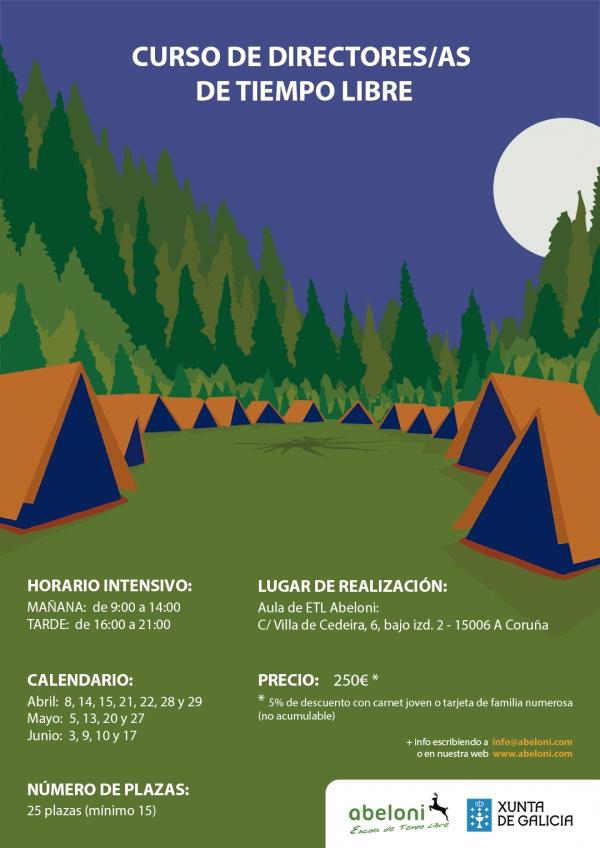 Curso de Directoras/es de Tempo Libre na Coruña