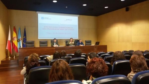 Encontro territorial de información xuvenil en Vigo
