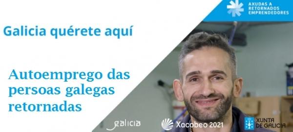 Autoemprego para persoas galegas retornadas