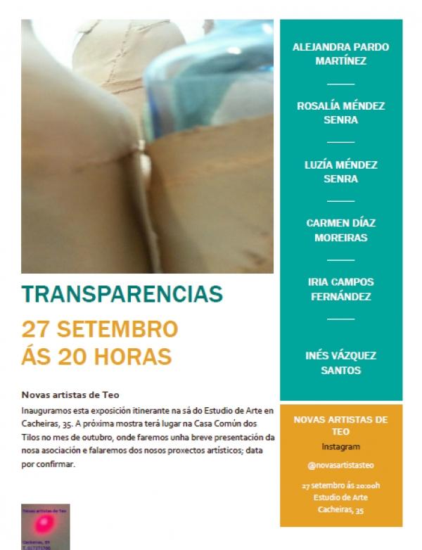 Transparencias. Novas artistas de Teo