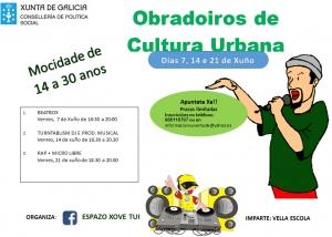OBRADOIROS DE CULTURA URBANA