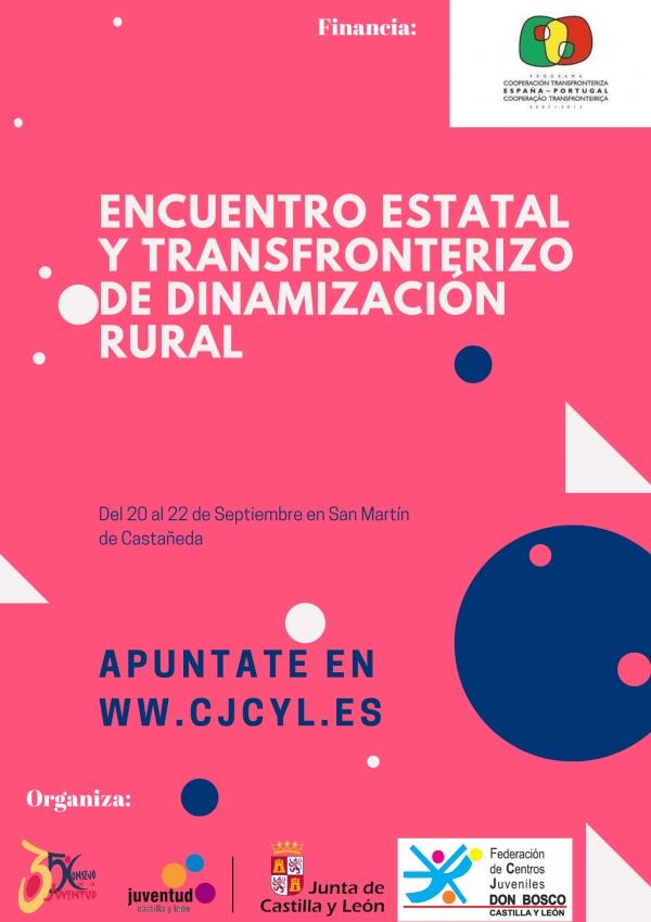 Encontro Estatal de Dinamización Rural en Castilla-León