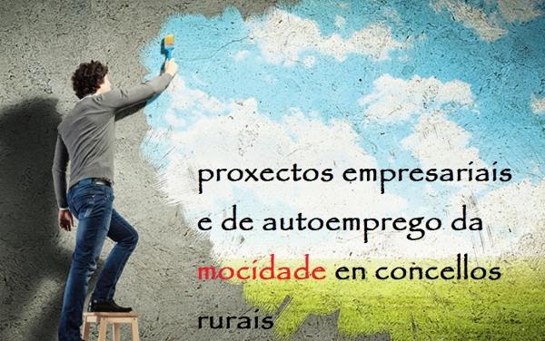 Proxectos empresariais e de autoemprego da Mocidade en concellos rurais de Ourense