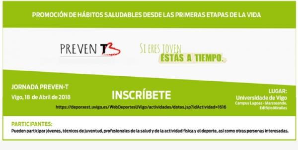 Xornada PrevenT en Vigo, de promoción de hábitos de vida saudable na mocidade