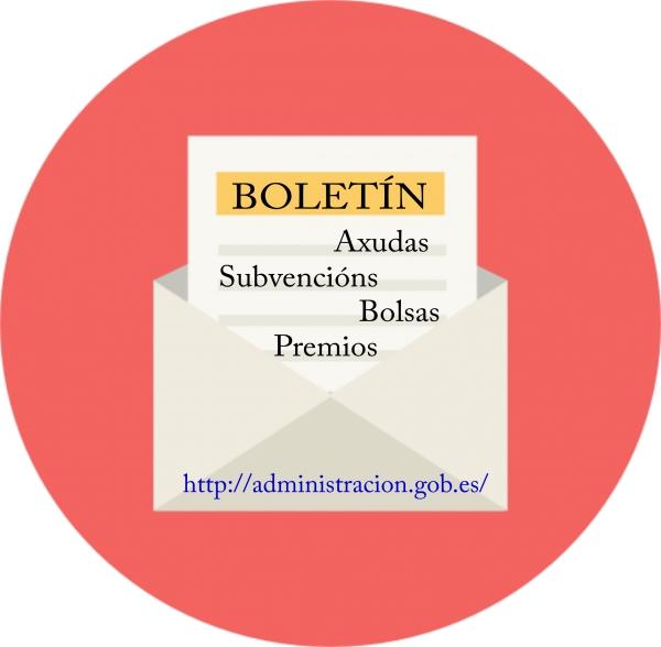 Boletín quincenal de axudas,subvencións, bolsas e premios