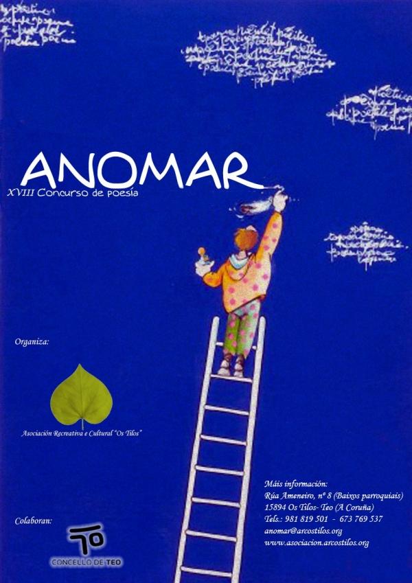 18ª edición do Concurso de Poesía ANOMAR