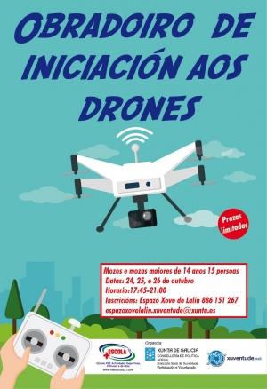 OBRADOIRO DE DRONES EN LALÍN