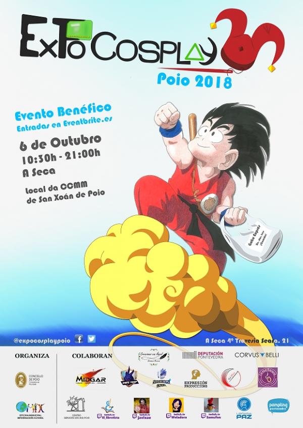 Festiva Solidario Expocosplay en Poio
