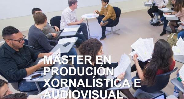 30 bolsas para un máster en Produción Xornalística e Audiovisual