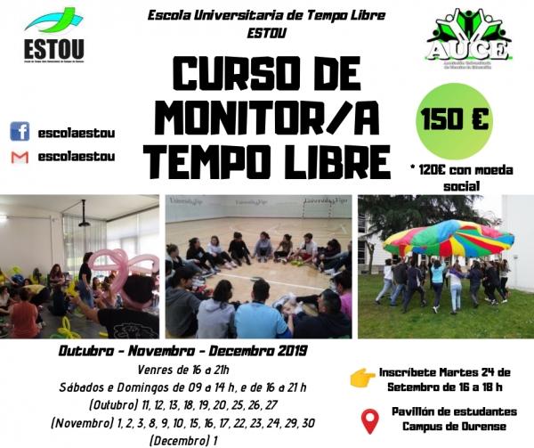 Curso de monitor/a de actividades de tempo libre en Ourense da escola Estou