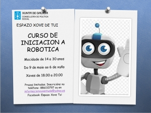 CURSO DE INICIACION A ROBOTICA