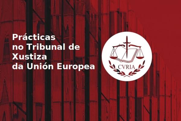 Prácticas no Tribunal de Xustiza da Unión Europea