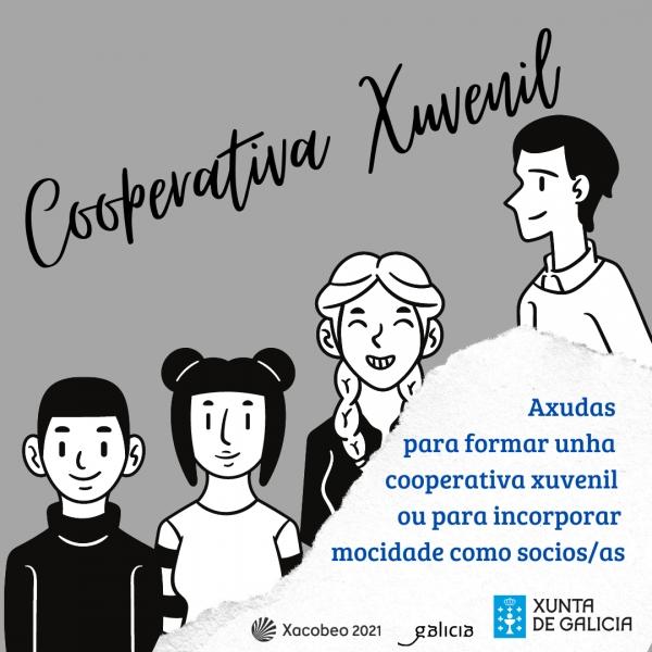 Cooperativa xuvenil. Axudas á mocidade para o emprendemento en economía social
