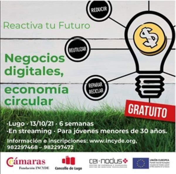 Negocios Dixitais aplicando Economía Circular