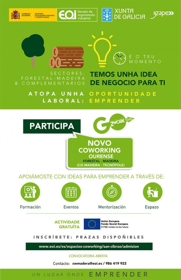 "Coworking ""Forestal-Madeira IGAPE"" Ourense"