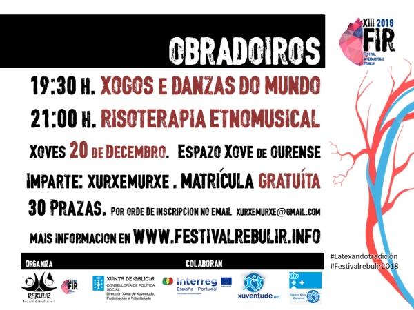 Obradoiros no Espazo Xove de Ourense