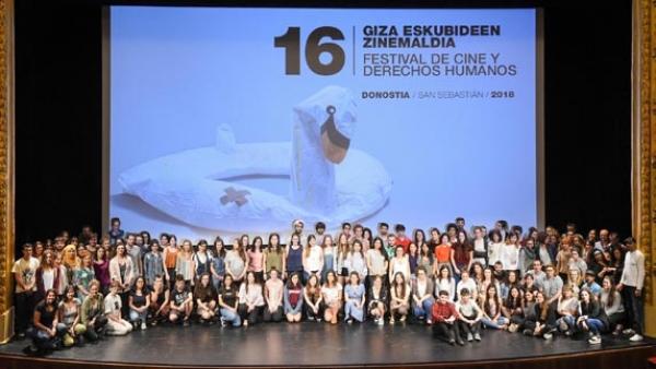 Voluntarios/a para formar o Xurado Novo do Festival de Cinema e Dereitos Humanos de  Donostia
