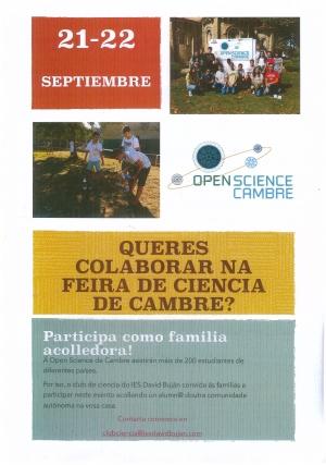 Queres colaborar na feira da ciencia de Cambre?
