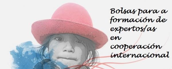 Bolsas para a formación de persoas expertas en cooperación internacional para o desenvolvemento