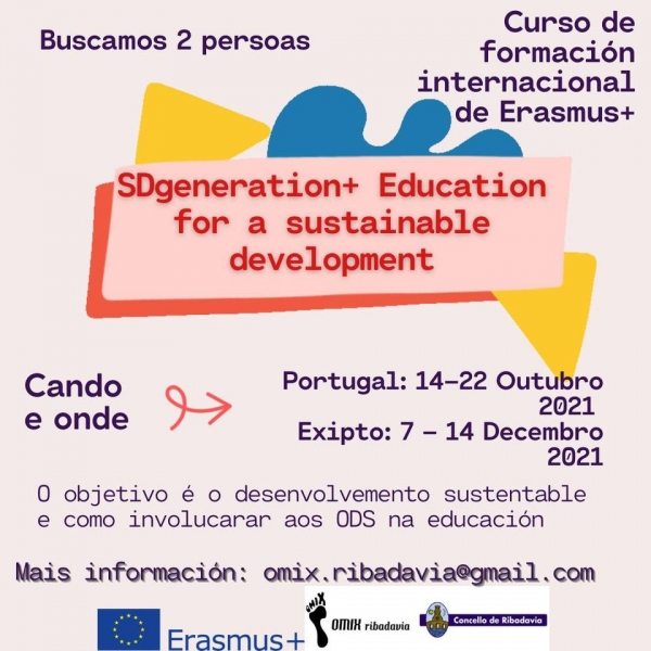 """Participantes para a Formación Internacional """"SDGeneration - Educación para un desenvolvemento sostible"""""""