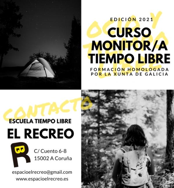 Curso na Coruña de Monitor/a de actividades de tempo libre da ETL O Recreo