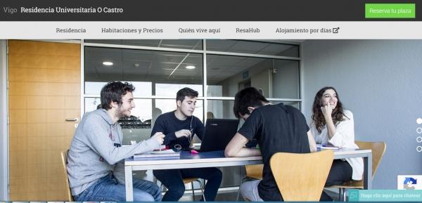 Buscas residencia na Universidade de Vigo?