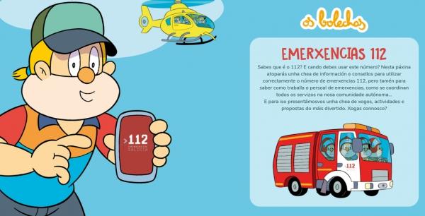 Os bolechas e emerxencias 112