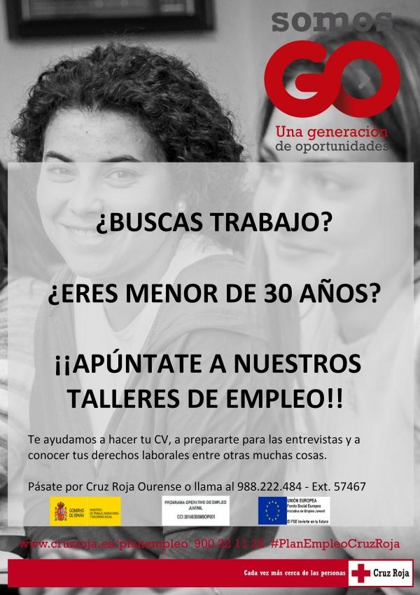 Talleres de busca de Emprego de Cruz Vermella de Ourense