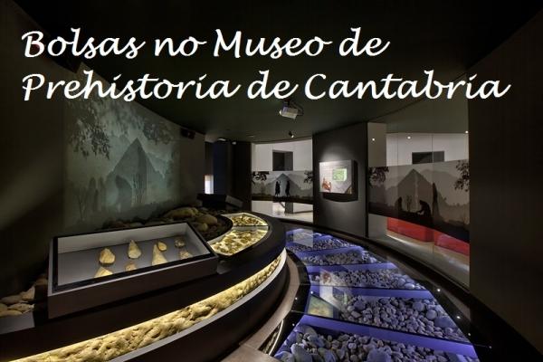 Bolsas no no Museo de Prehistoria e Arqueoloxía de Cantabria