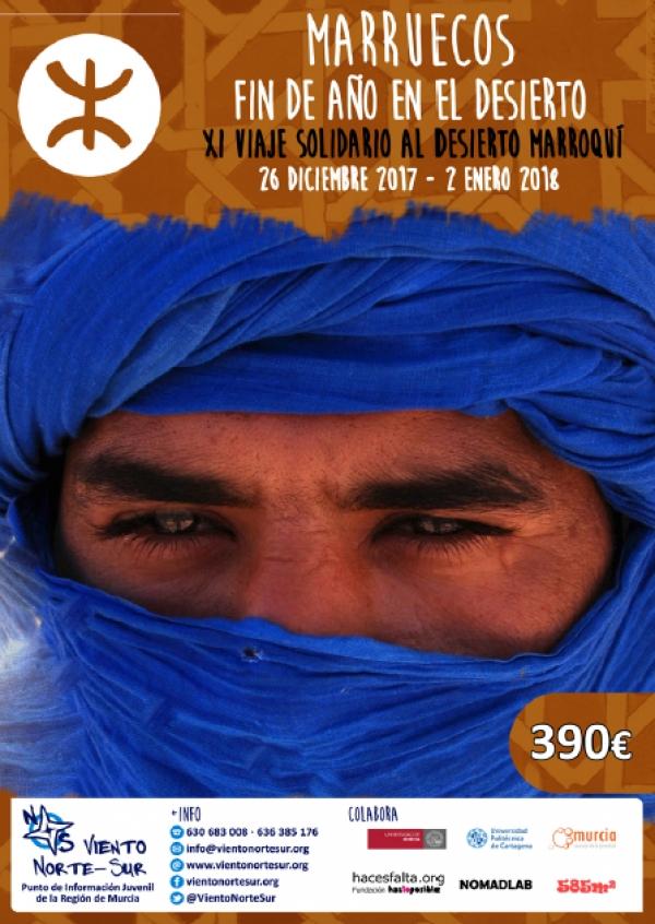 IX Viaxe solidaria ao deserto Marroquí. Fin de ano no deserto