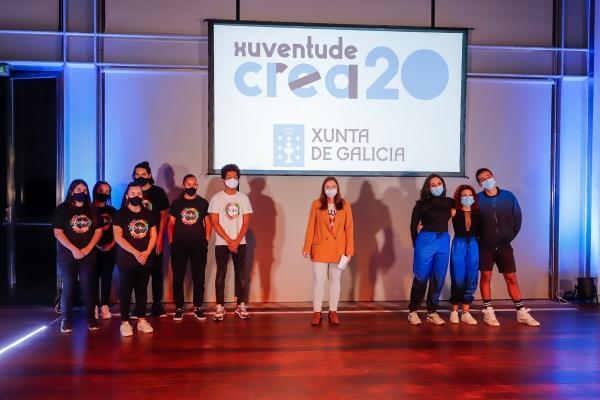 Final de Danza Moderna do programa Xuventude Crea
