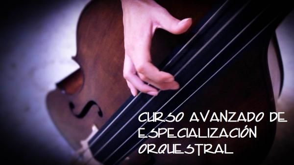 Curso avanzado de especialización orquestral