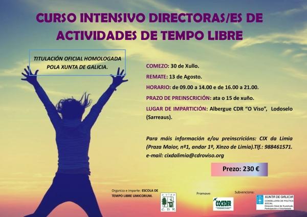 Curso de Directores/as de actividades de tempo libre en Sarreaus