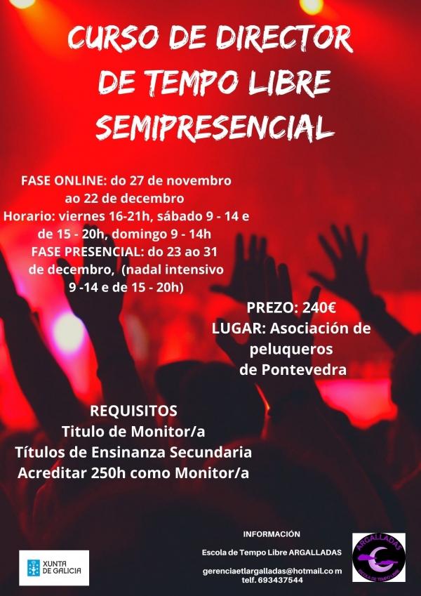 Curso de Director/a de actividades de tempo libre en Pontevedra da ETL Argalladas