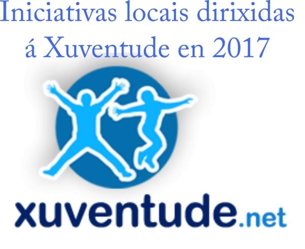 Subvencións concedidas para iniciativas locais dirixidas á xuventude durante o ano 2017